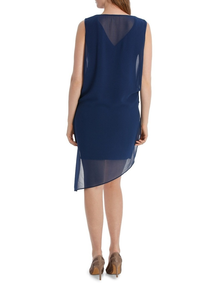 Monarco Drape Overlay Dress image 3
