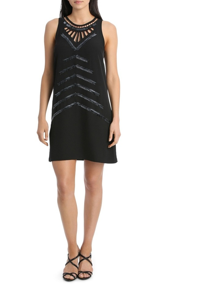 Cut Out Beaded Dress image 1