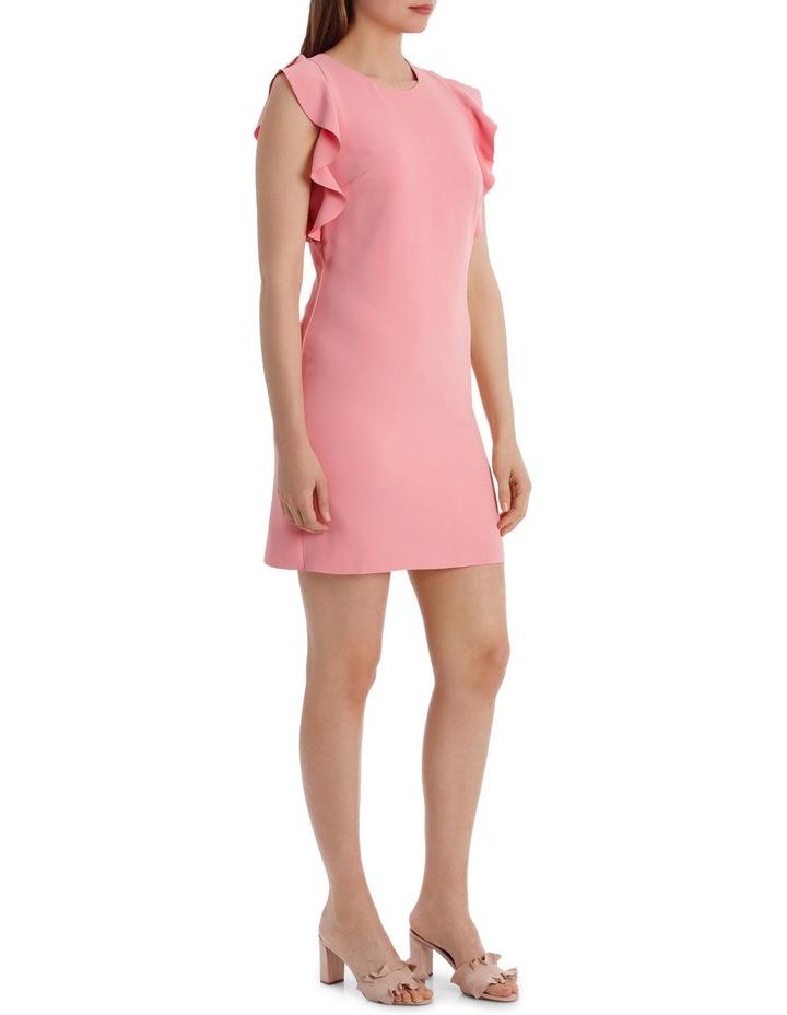Ruffle Sleeve Shift Dress image 2
