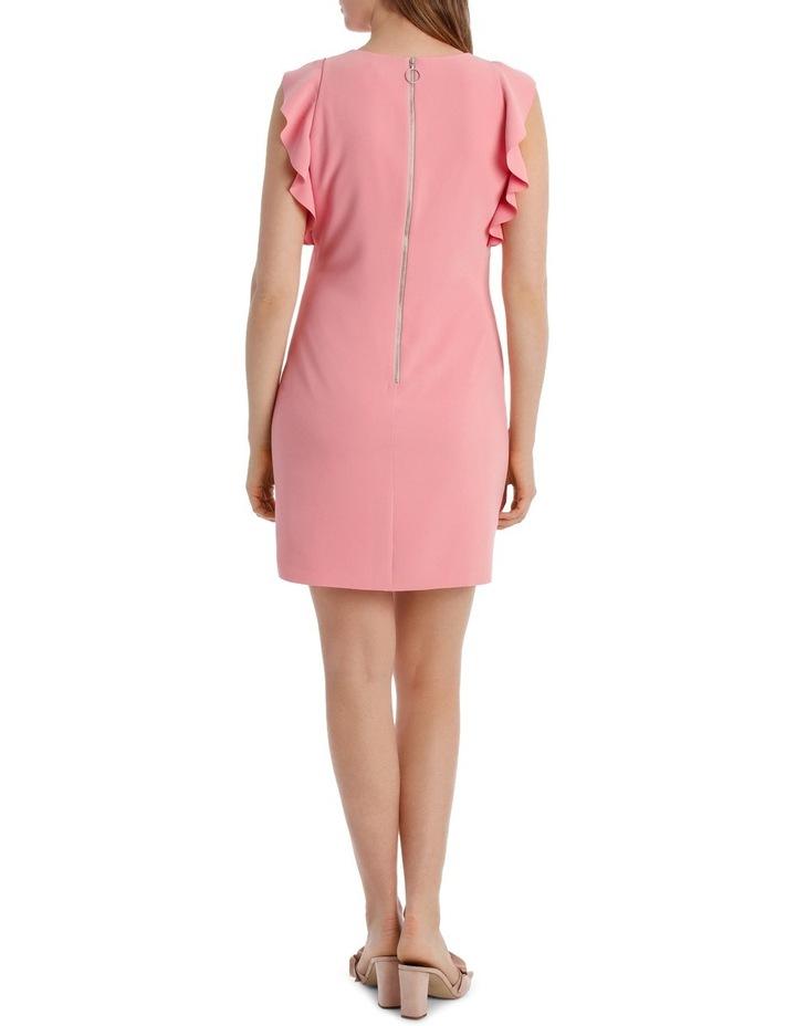 Ruffle Sleeve Shift Dress image 3
