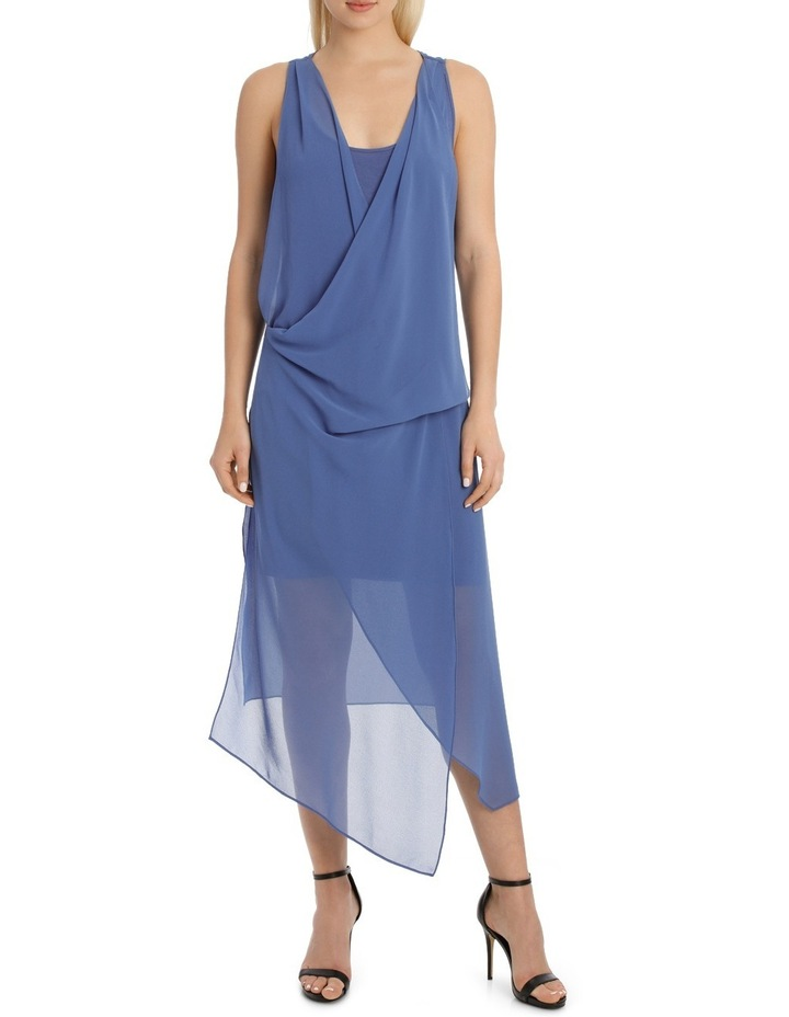 Folded Wrap Dress image 1