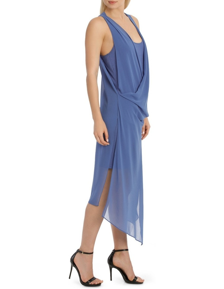Folded Wrap Dress image 2