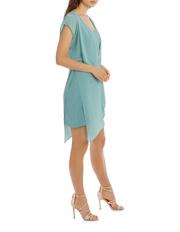 Wayne Cooper - V Neck Overlay Dress