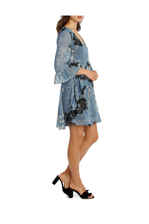 Wayne Cooper - Marie Antioinette V Neck Frill Dress