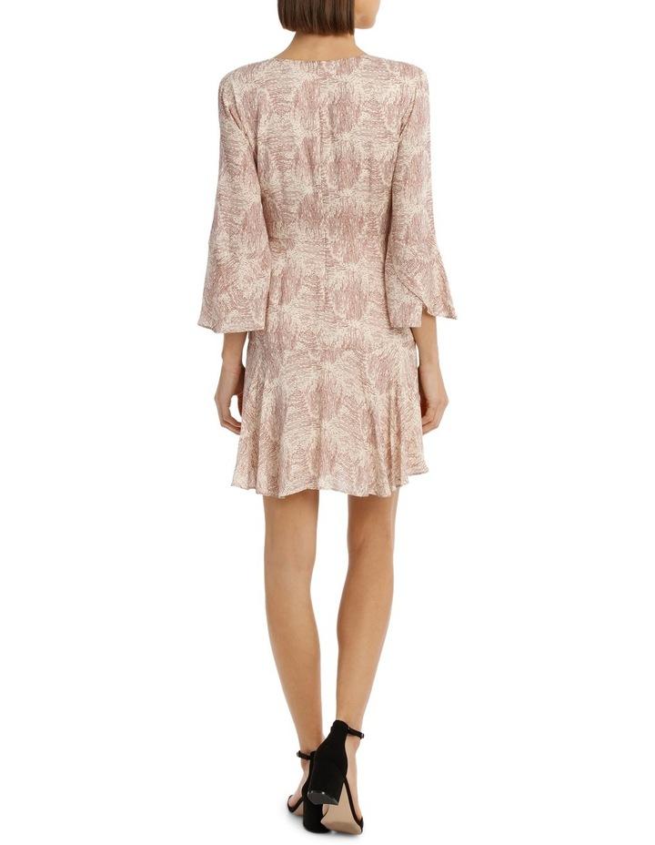 Amber Ripple Frill Sleeve Dress image 3