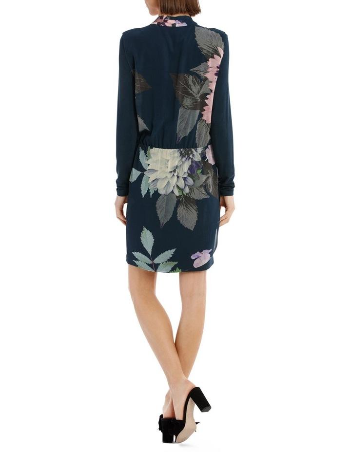Valintina Ombre Long Sleeve over Lay Dress image 3