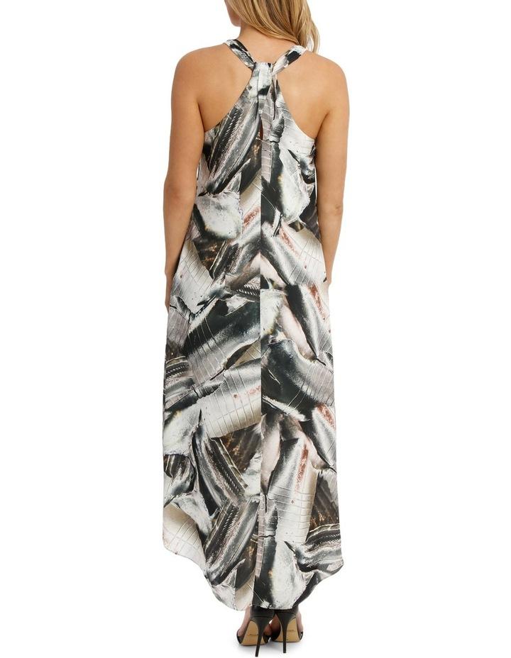 Metal Work Highlow Midi Dress image 3