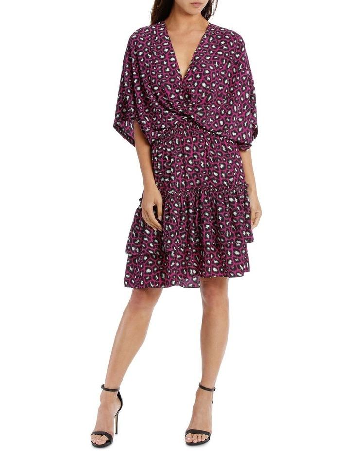 96432ee229a0 Wayne Cooper | Fuschia Leopard Kimono Dress | MYER