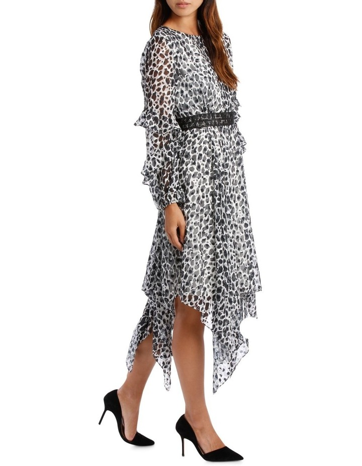 Wild Cheetah Print Midi Dress image 2