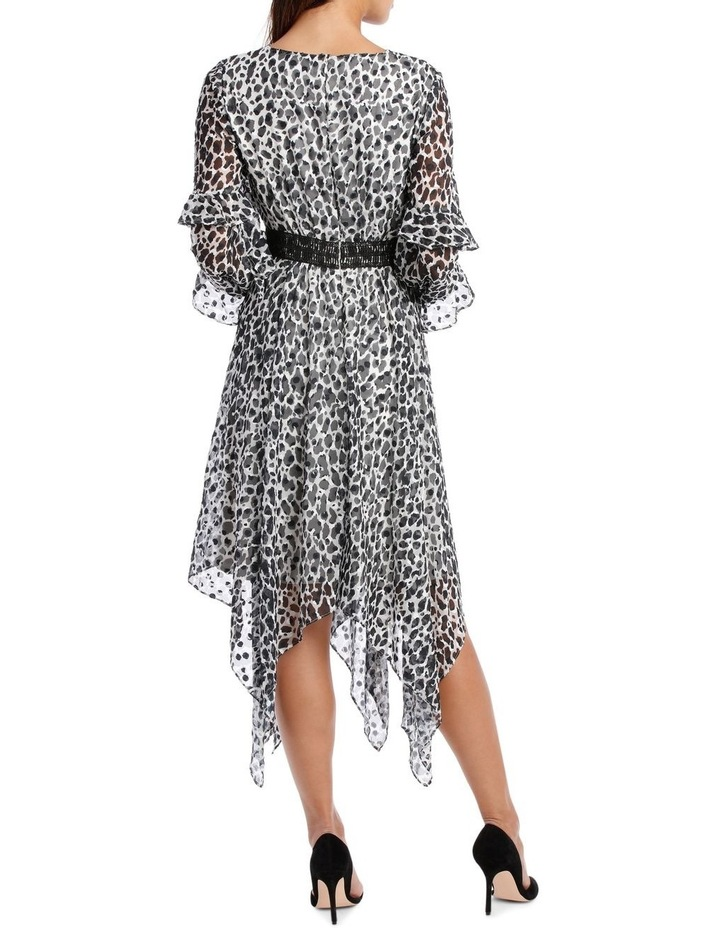 Wild Cheetah Print Midi Dress image 3