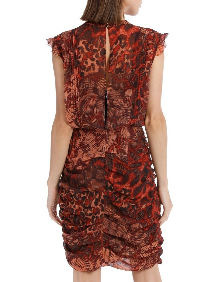 Phoenix Print Rouched Dress image 2