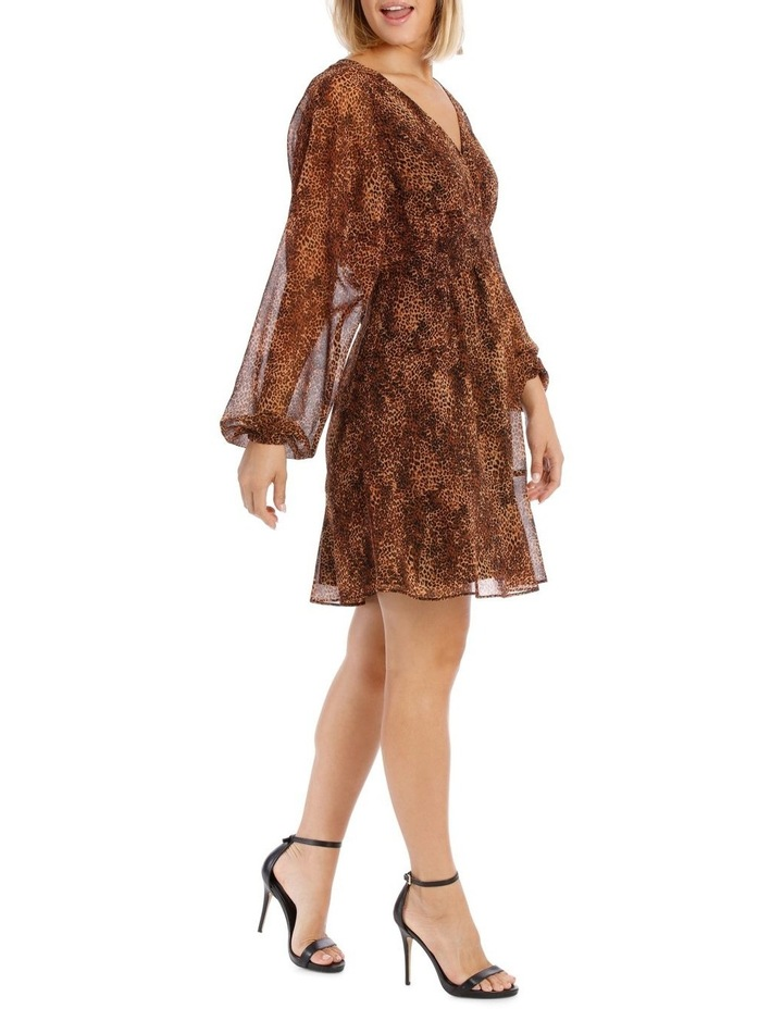Natural Pop Animal Print Dress image 2