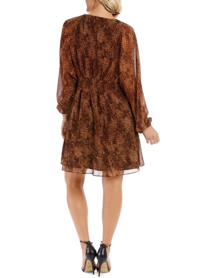 Natural Pop Animal Print Dress image 3