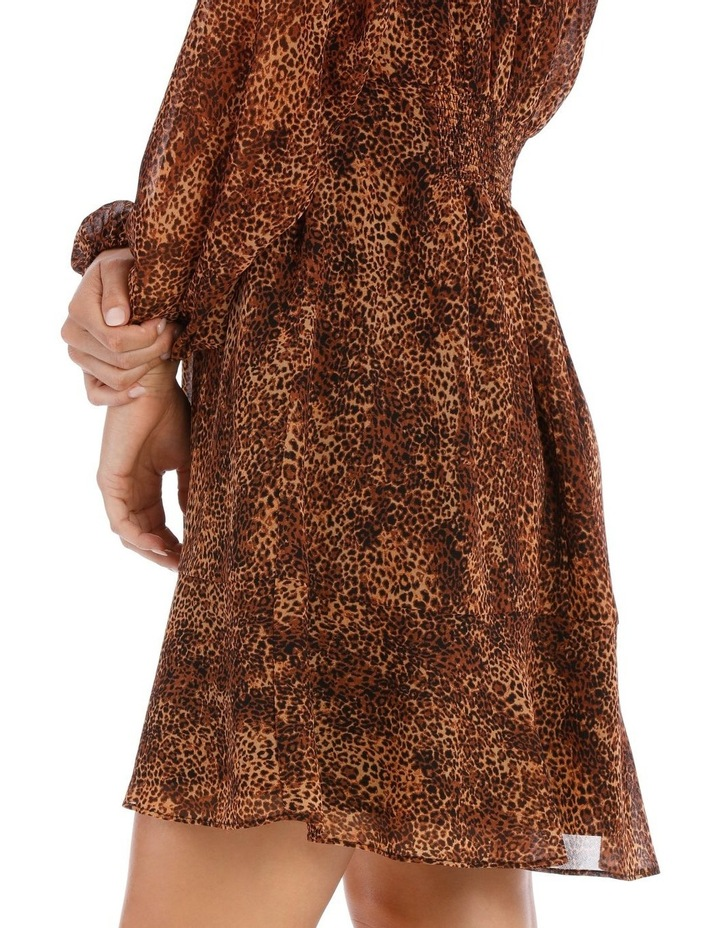 Natural Pop Animal Print Dress image 4