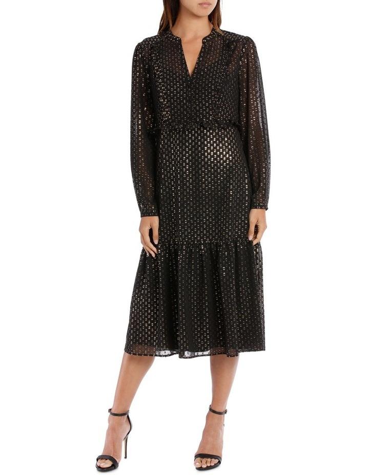 Lurex Spot Frill Dress image 1