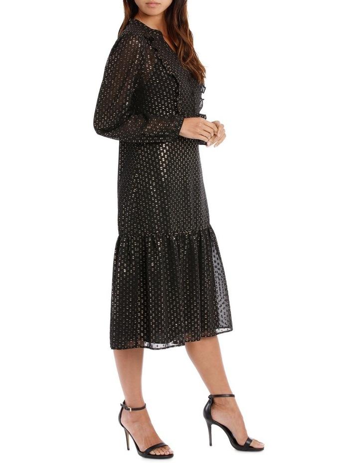 Lurex Spot Frill Dress image 2