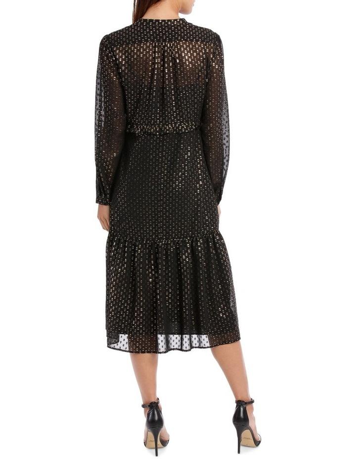 Lurex Spot Frill Dress image 3