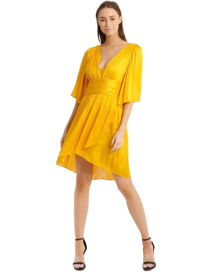 Hi Low Deep Vee Dress image 1