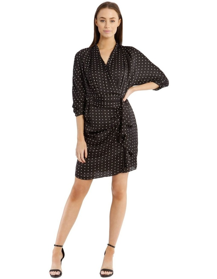 Spot With Eyelet Dress image 1