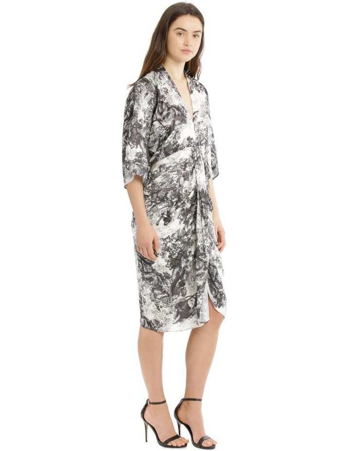 Dress Dolman Rouched Waist image 2