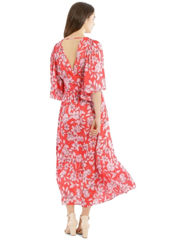Hi Low Deep Vee Dress image 3