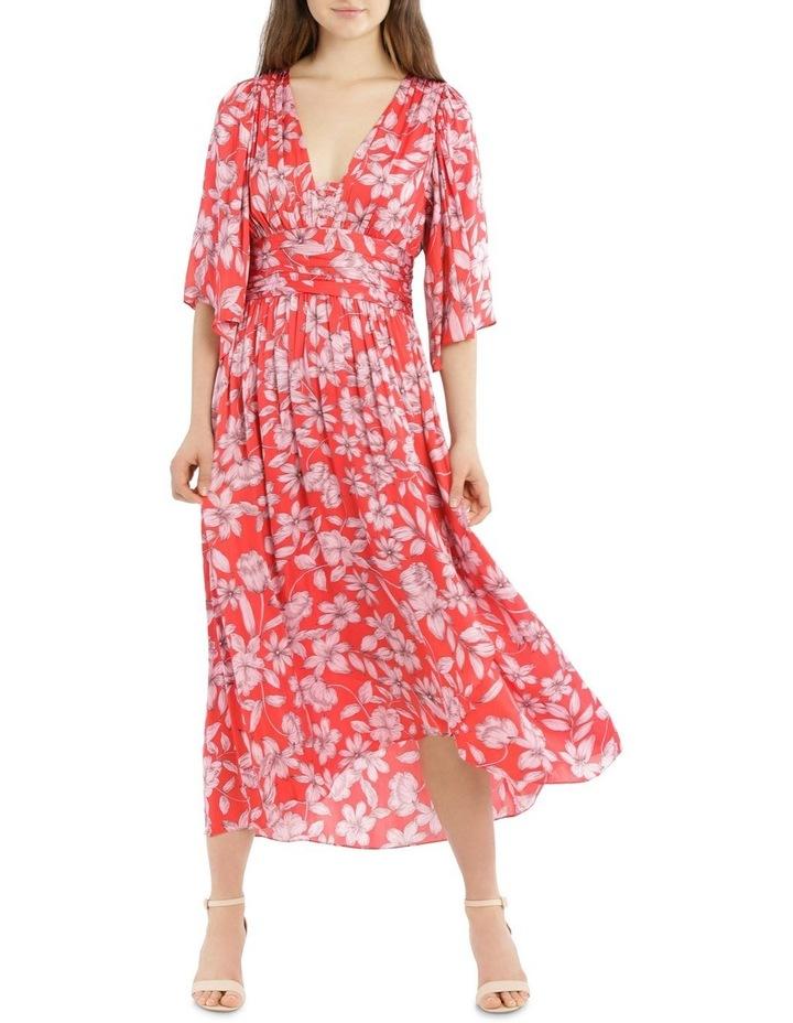 Hi Low Deep Vee Dress image 5