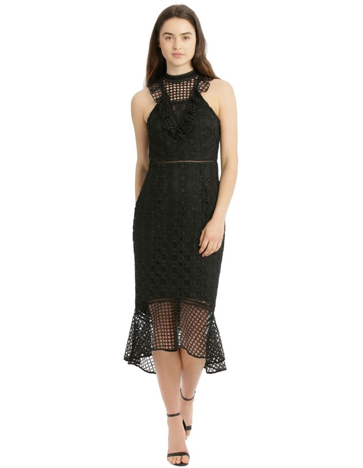 Lace With Ruffles Dress image 1