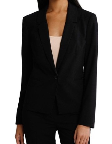 8eee6b88a Basque Essential One Button Suit Jacket