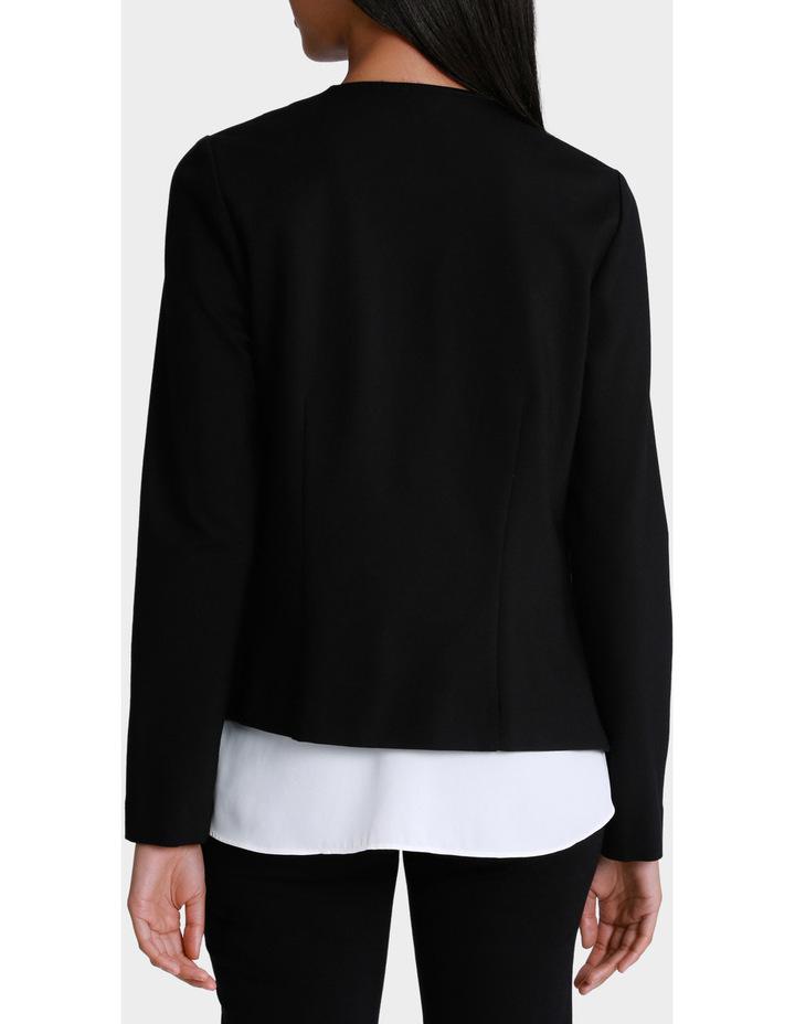 Ponte Zip Detail Jacket image 3