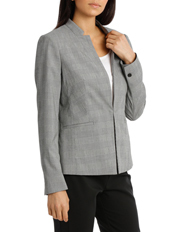 Basque - Prince Of Wales Check Suit Jacket