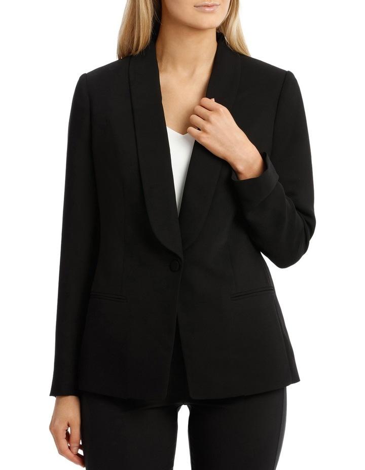 Single Button Tuxedo Jacket image 1