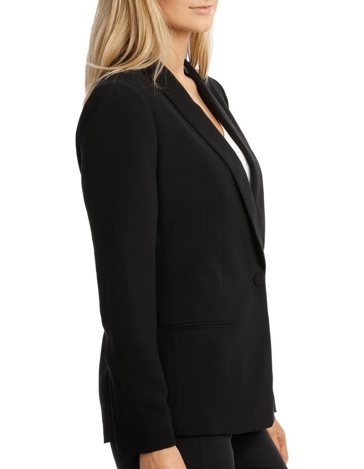 Single Button Tuxedo Jacket image 2