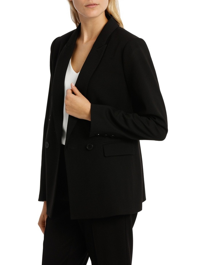 Double Breasted Prism Longline Suit Jacket image 2