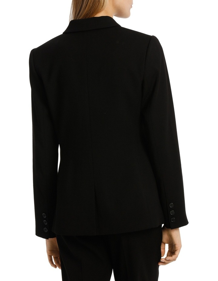 Double Breasted Prism Longline Suit Jacket image 3