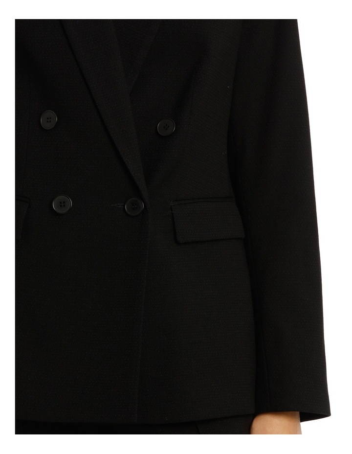Double Breasted Prism Longline Suit Jacket image 4