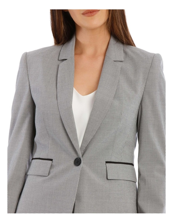 Houndstooth Suit Jacket image 4