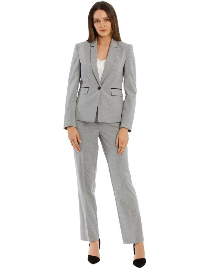 Houndstooth Suit Jacket image 5