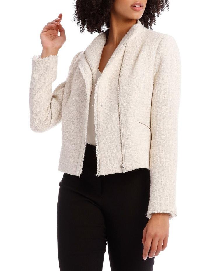Tweed Moto Jacket image 1