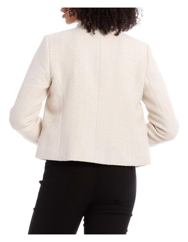 Tweed Moto Jacket image 3