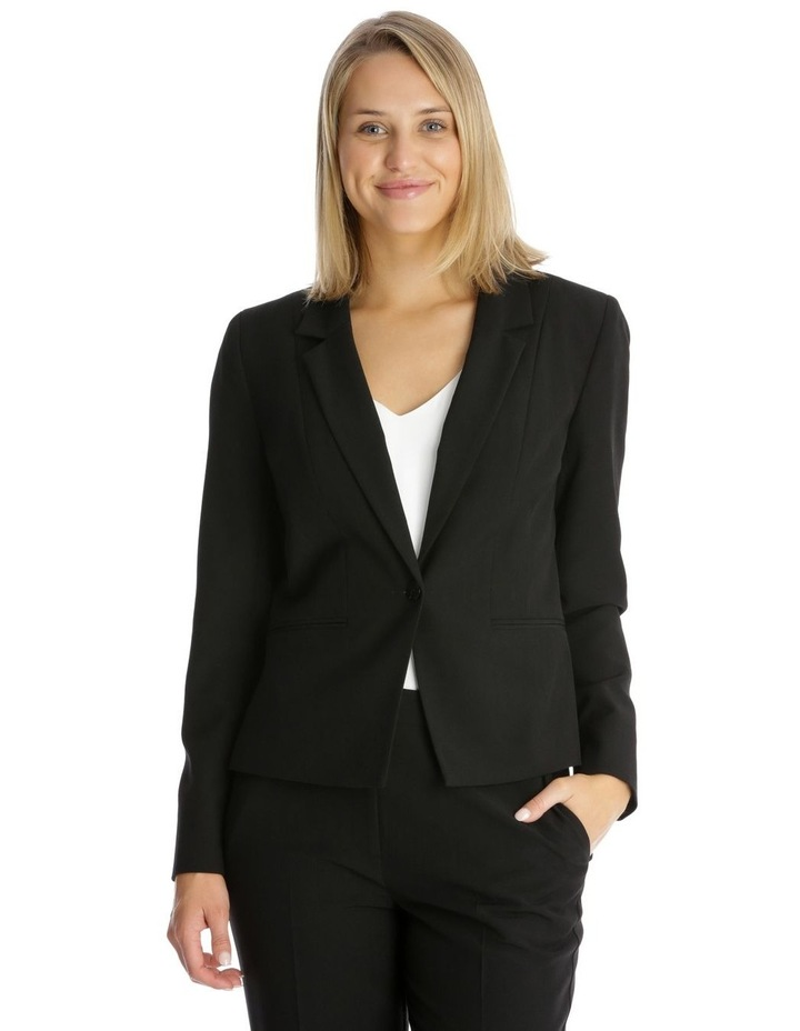 Essential One Button Suit Jacket image 1