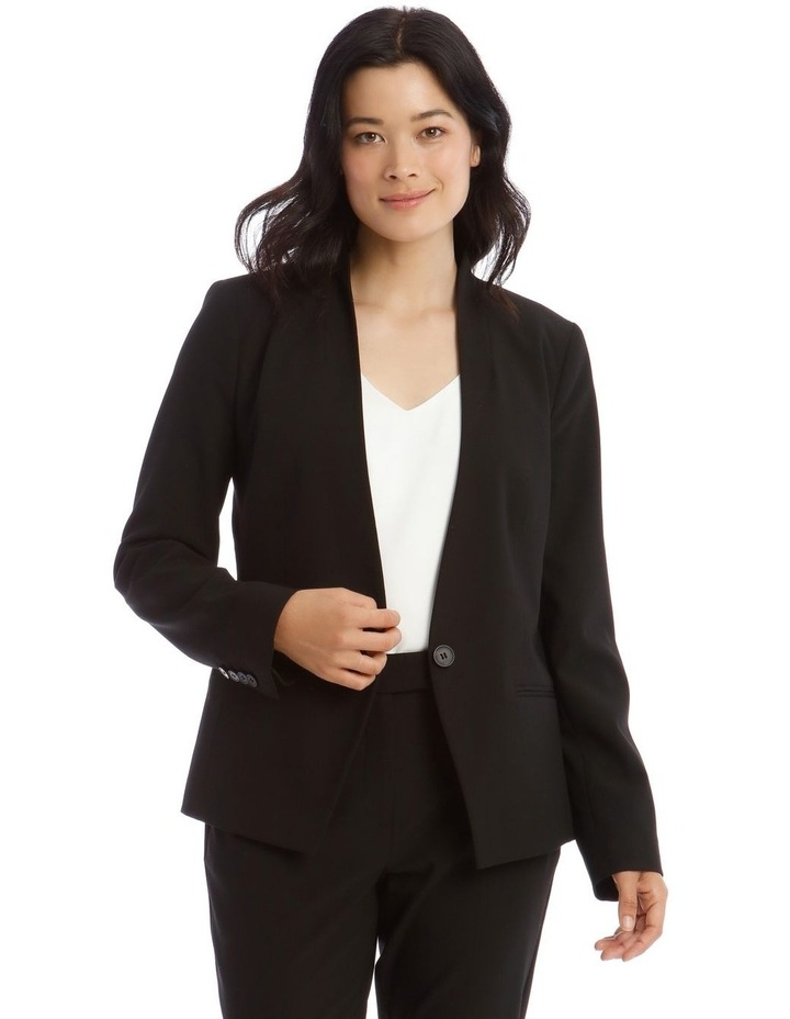 Edge To Edge Two Way Stretch Suit Jacket image 1