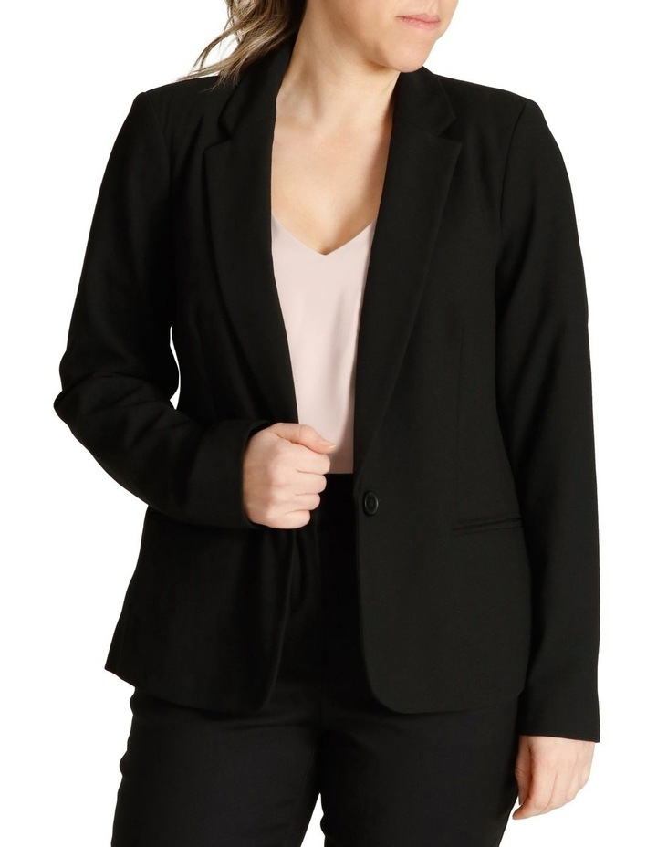 Single Button Two Way Stretch Jacket image 1
