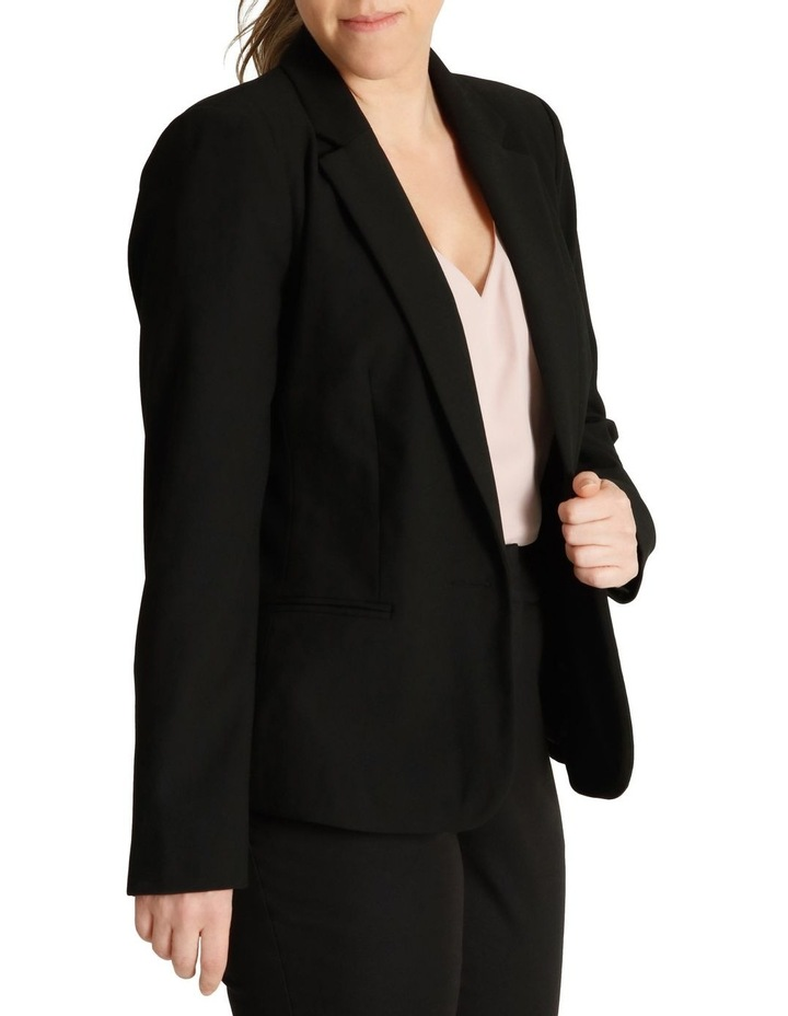 Single Button Two Way Stretch Jacket image 2