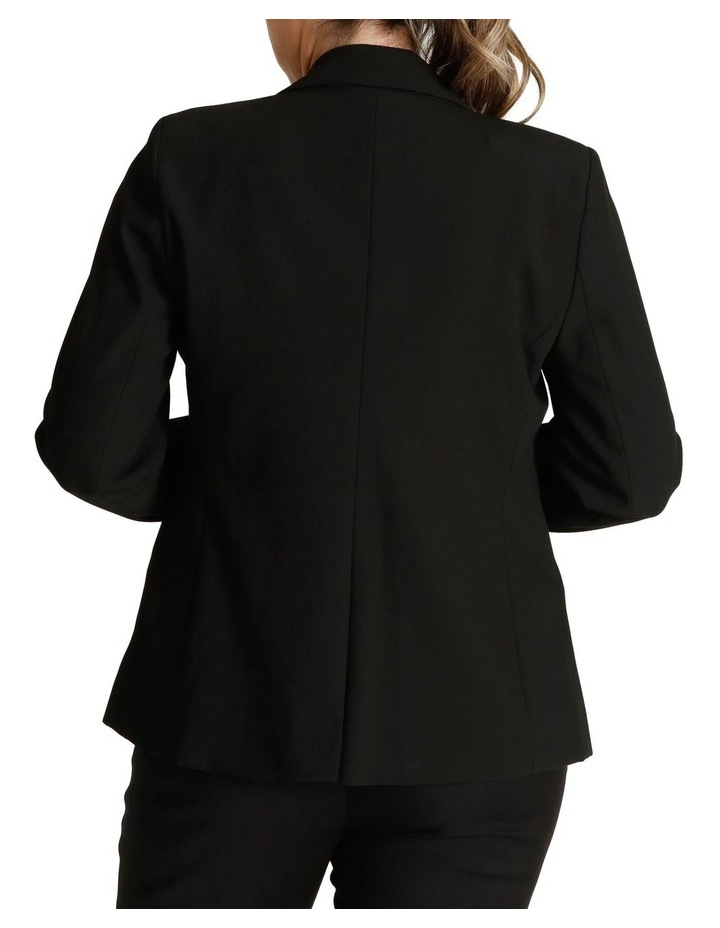 Single Button Two Way Stretch Jacket image 3