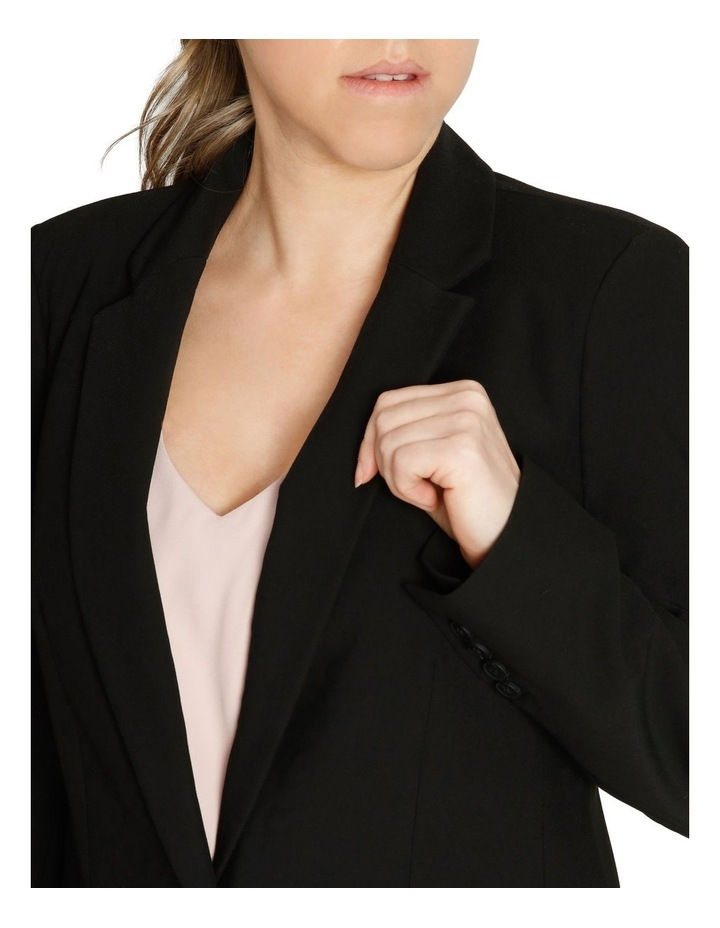Single Button Two Way Stretch Jacket image 4