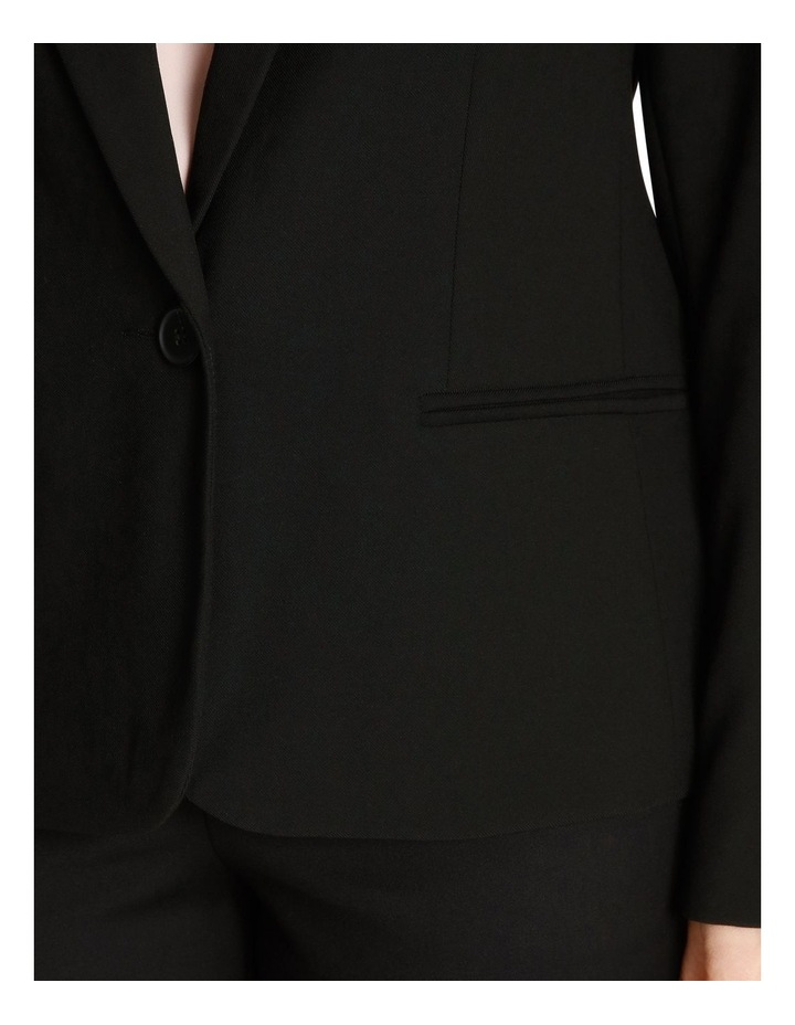Single Button Two Way Stretch Jacket image 5
