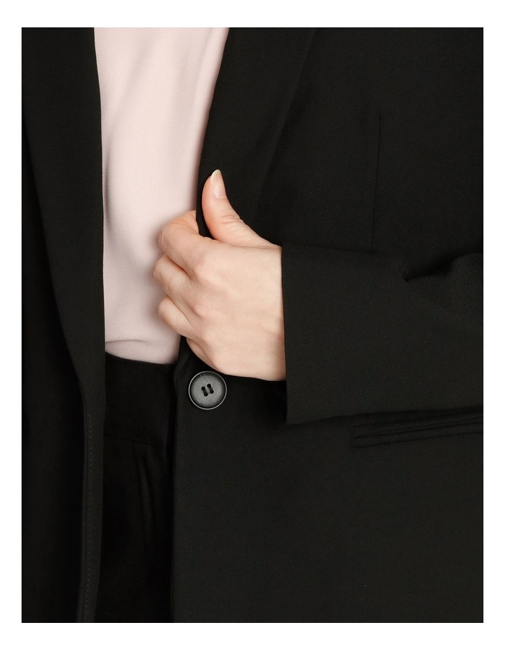 Single Button Two Way Stretch Jacket image 6