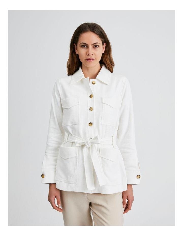 Utility Belted Jacket image 5