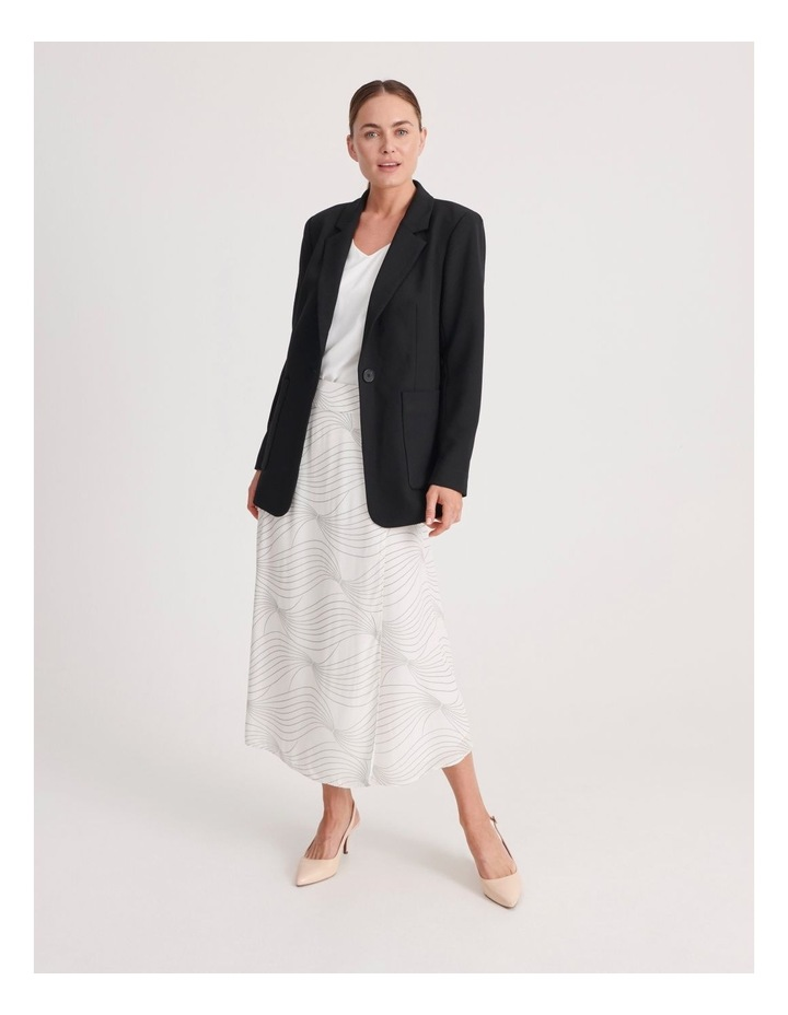 Pocket Long Line Blazer image 1