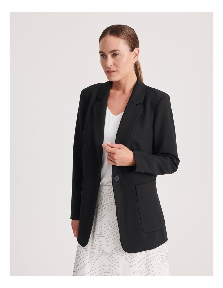 Pocket Long Line Blazer image 2